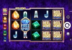 reel gems deluxe machine à sous microgaming