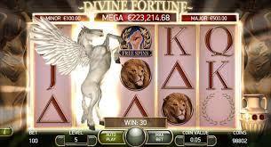Divine fortune machine à sous NetEnt