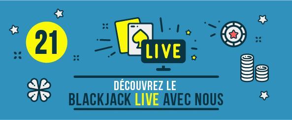 Découvrez le Blackjack Live avec nous