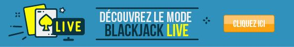 découvrez le mode blackjack live