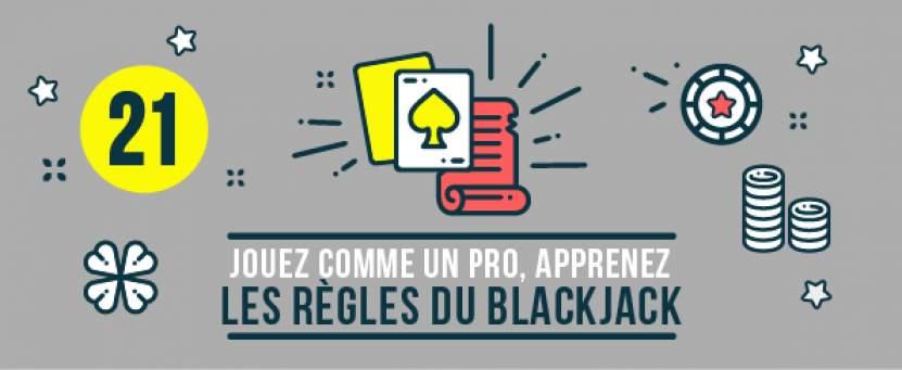 Jouez comme un pro, apprenez les règles du blackjack