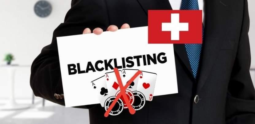 liste noire casino en ligne en suisse